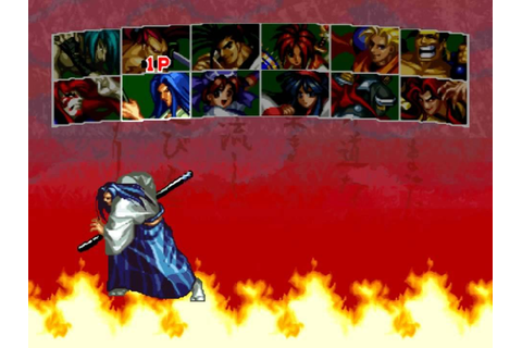 Samurai Shodown III Blades Of Blood ps1 Character Select ...