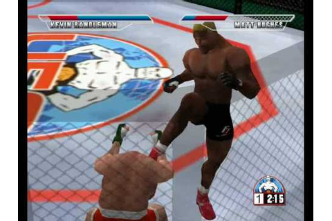 Ultimate Fighting Championship (Sega Dreamcast) Gameplay ...
