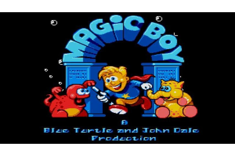 Magic Boy gameplay (PC Game, 1993) - YouTube