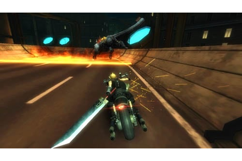 Chase Game FINAL FANTASY VII G-BIKE Announced by Square ...