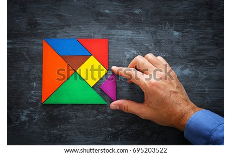 Tangram Stock Images, Royalty-Free Images & Vectors ...