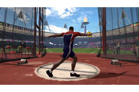 London 2012: The Official Video Game - Men's Discus Throw ...