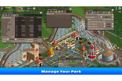 RollerCoaster Tycoon Classic [Steam CD Key] for PC and Mac ...