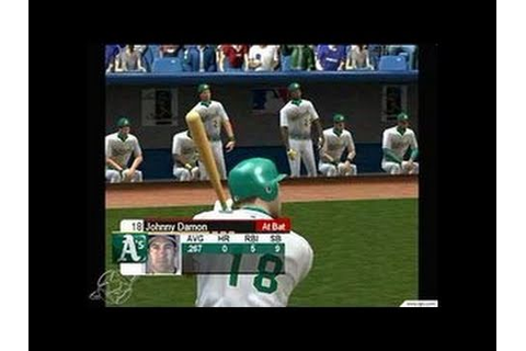 World Series Baseball 2K3 Xbox Gameplay - YouTube
