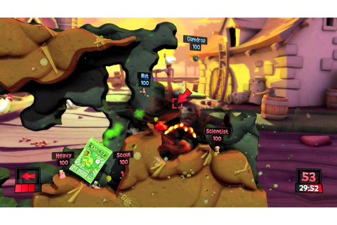 Worms Revolution in-game introduction movie. 'Don Keystone ...