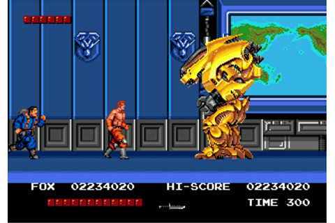 Download Thunder Fox (Genesis) - My Abandonware