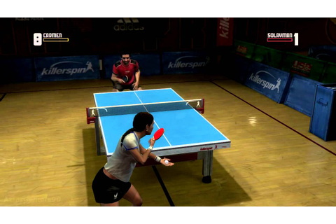 Rockstar Games Presents.. Table Tennis (Xbox360) gameplay ...