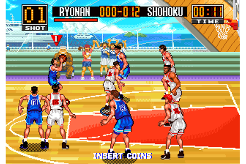 From TV Animation Slam Dunk - Super Slams ROM