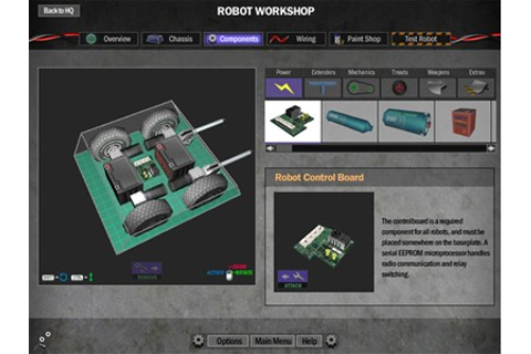 Download Game Robot Arena 2 : Design & Destroy DSL 2.1 ...
