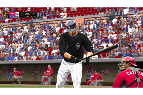 MLB The Show 16 Arizona Diamondbacks vs Colorado Rockies ...