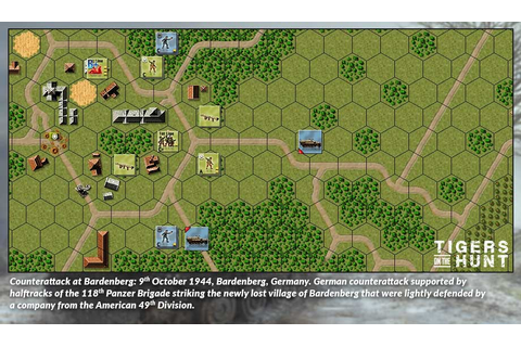 Tigers on the Hunt sur HistoriaGames - Images