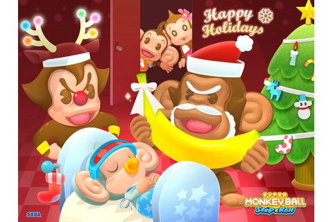 Have A Super Monkey Ball Christmas | Kotaku Australia