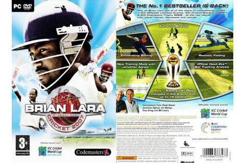 Brian Lara International Cricket 2007 Free Download « IGGGAMES