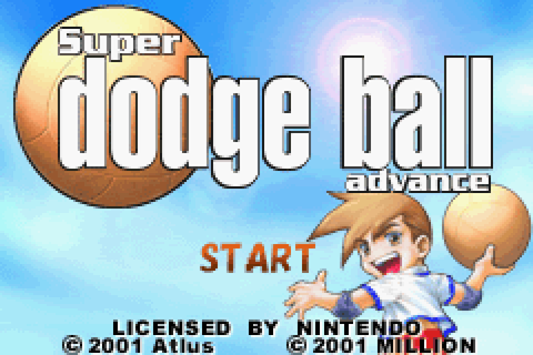 Super Dodge Ball Advance (U)(Mode7) ROM