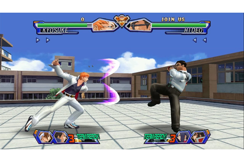 Project Justice Rival Schools 2 Dreamcast 1080p Widescreen ...