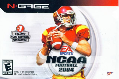 NCAA Football 2004 [N-Gage] ~ School Of Gamez