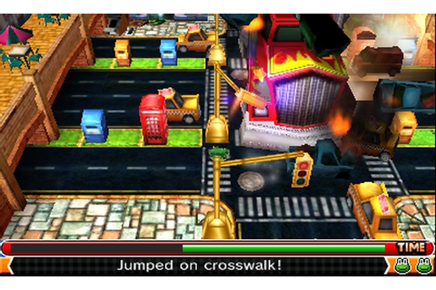 HonestGamers - Frogger 3D (3DS) review by Jason Venter