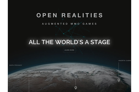 Open Realities | AR MMO GAMES