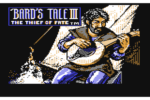 The Bard's Tale III: Thief of Fate (1988) by Interplay C64 ...