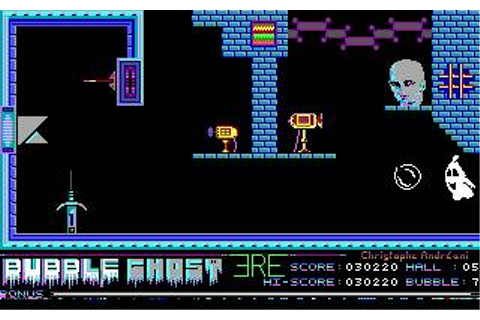 Bubble Ghost Download (1988 Arcade action Game)