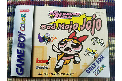 The Powerpuff Girls Bad Mojo Jojo - Authentic - Nintendo ...