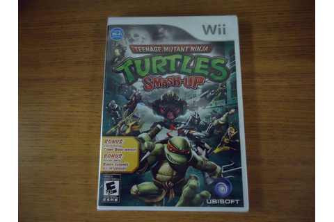Teenage Mutant Ninja Turtles: Smash-Up & Ltd Edition Comic ...