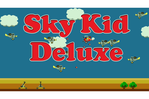 Sky Kid Deluxe Arcade Game Review - MAMECADE 55 - YouTube