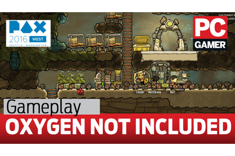 Oxygen Not Included gameplay — first look - YouTube