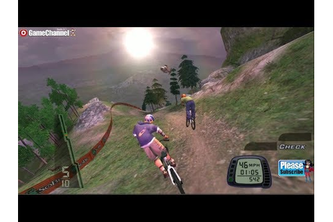 Downhill Domination - Ps2 Bike Race Games - Mountain ...