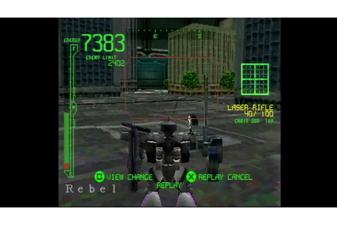 Armored Core: Project Phantasma - Death Master battle ...