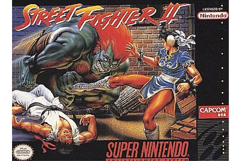 Street Fighter II: The World Warrior (Super Nintendo ...