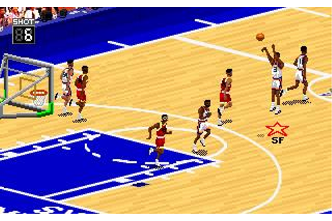 NBA Live 95 Download (1995 Sports Game)