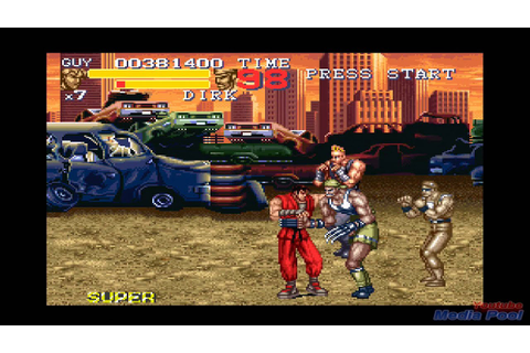 1995 Final Fight 3 (SNES) Game Playthrough Retro Game ...