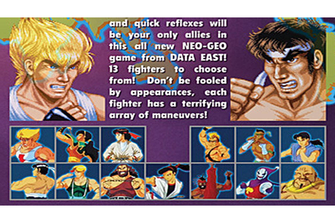Fighter's History - All Characters Quick Play - YouTube