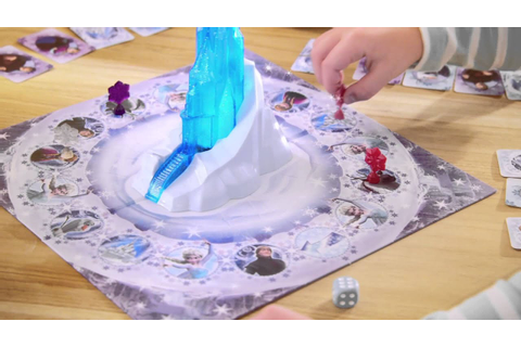Smyths Toys - Disney Frozen Magical Ice Palace Game - YouTube