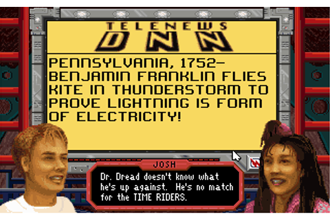 Download Time Riders in American History - My Abandonware