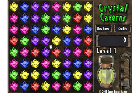 Crystal Caverns Game|Play Online Games Free |Ozzoom Games ...