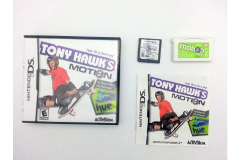 Tony Hawk Motion game for Nintendo DS -Complete ...