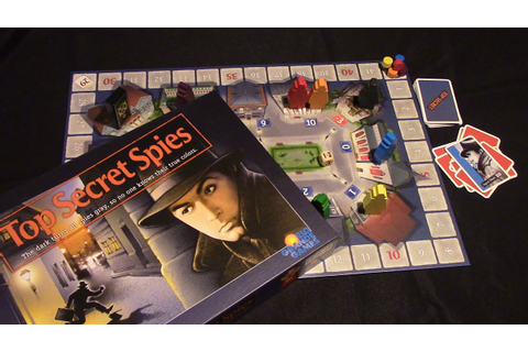 Jeremy Reviews It... - Top Secret Spies Board Game Review ...