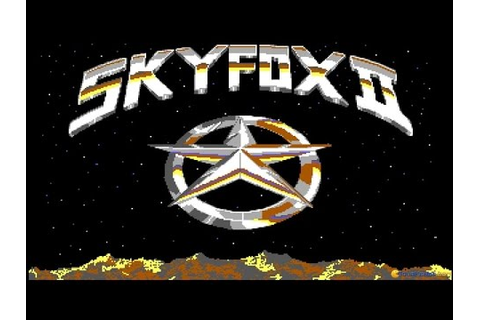 Skyfox II: The Cygnus Conflict gameplay (PC Game, 1987 ...