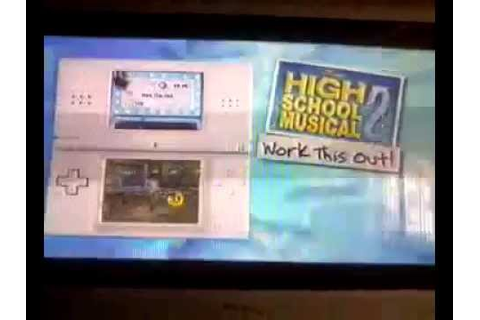 High School Musical 2 - Work This Out Nintendo DS Game ...