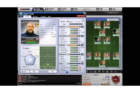 [FC Manager] Game Guide : Player Information - YouTube