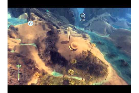 From Dust, PC Game, Stage 2 Gameplay, Diverting the ...