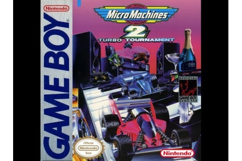 Game Boy: Micro Machines 2 - Turbo Tournament (HD / 60fps ...