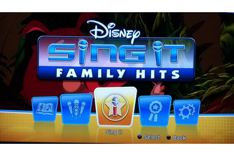 Disney Sing It: Family Hits Platinum Trophy [bmj14772 ...