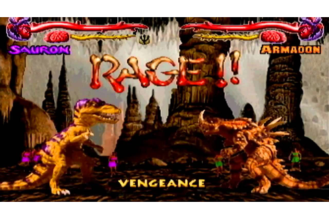 Primal rage- Gamecube- Full game- Sauron - YouTube