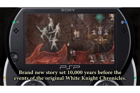 White Knight Chronicles: Origins - PSP - gamepressure.com