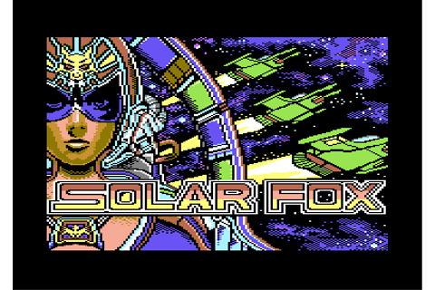 [CSDb] - Solar Fox Arcade GFX #004 by Arcadestation (2017)