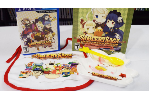Sorcery Saga Curse of the Great Curry God: Limited Edition ...