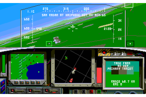 F-15 Strike Eagle II (1989) by Microprose MS-DOS game